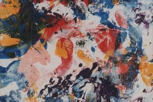 Gymnopediés - Erik Satie, 18 h x 17, acrilico su tela, 1993