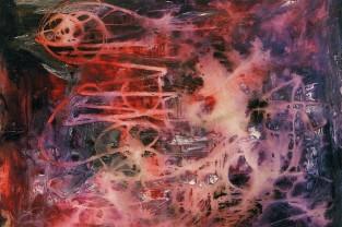 Cosmogonia, 80 h x 100, acrilico su tela, 1994