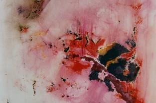 Dolce ricordo, 23 h x 18, acrilico su cartoncino, 1989