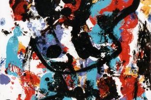 Symphony n. 3 - A. Bruckner, 23 h x 18, acrilico su cartoncino, 1993