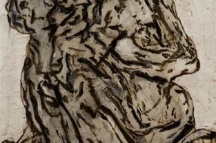 Amore 50 x 70 encausto su legno 2014