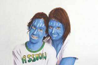 Avatar, 60h x 97, olio su tela,  2011