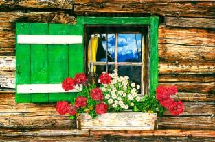 Finestra Nr.2 | Finestre dell'Alto Adige disegnate
