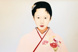 Giapponese 1, 60h x 97, olio su tela, 2011