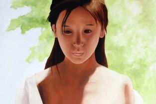 Giapponese-2, 97h x 60, olio su tela, 2010