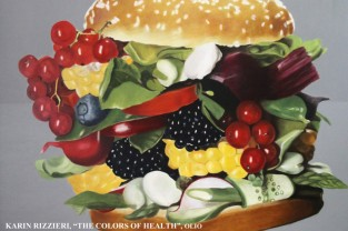 Karin Rizzieri - The colours of health - Olio