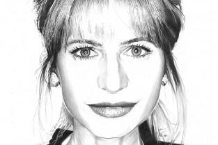 Lilly Gruber Nr.7 | Personalità dell'Alto Adige disegnate
